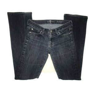 7 for all mankind Skinny Embellished Bootcut Jeans